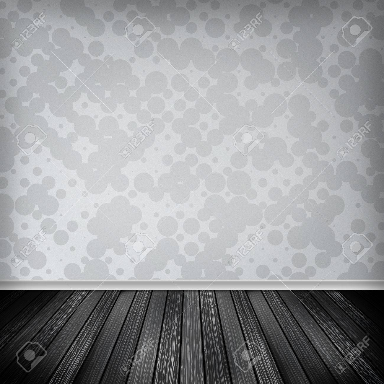 Grau Weiss Leeren Raum Interieur Mit Tapeten Hohe Auflosung Textur