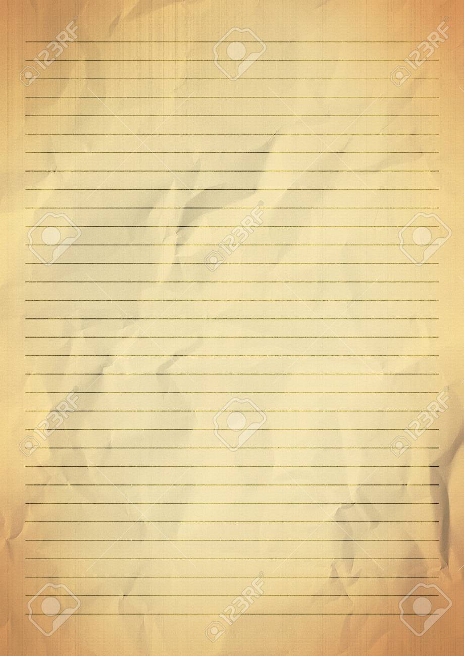 gold yellow lined paper texture background stock photo, picture and