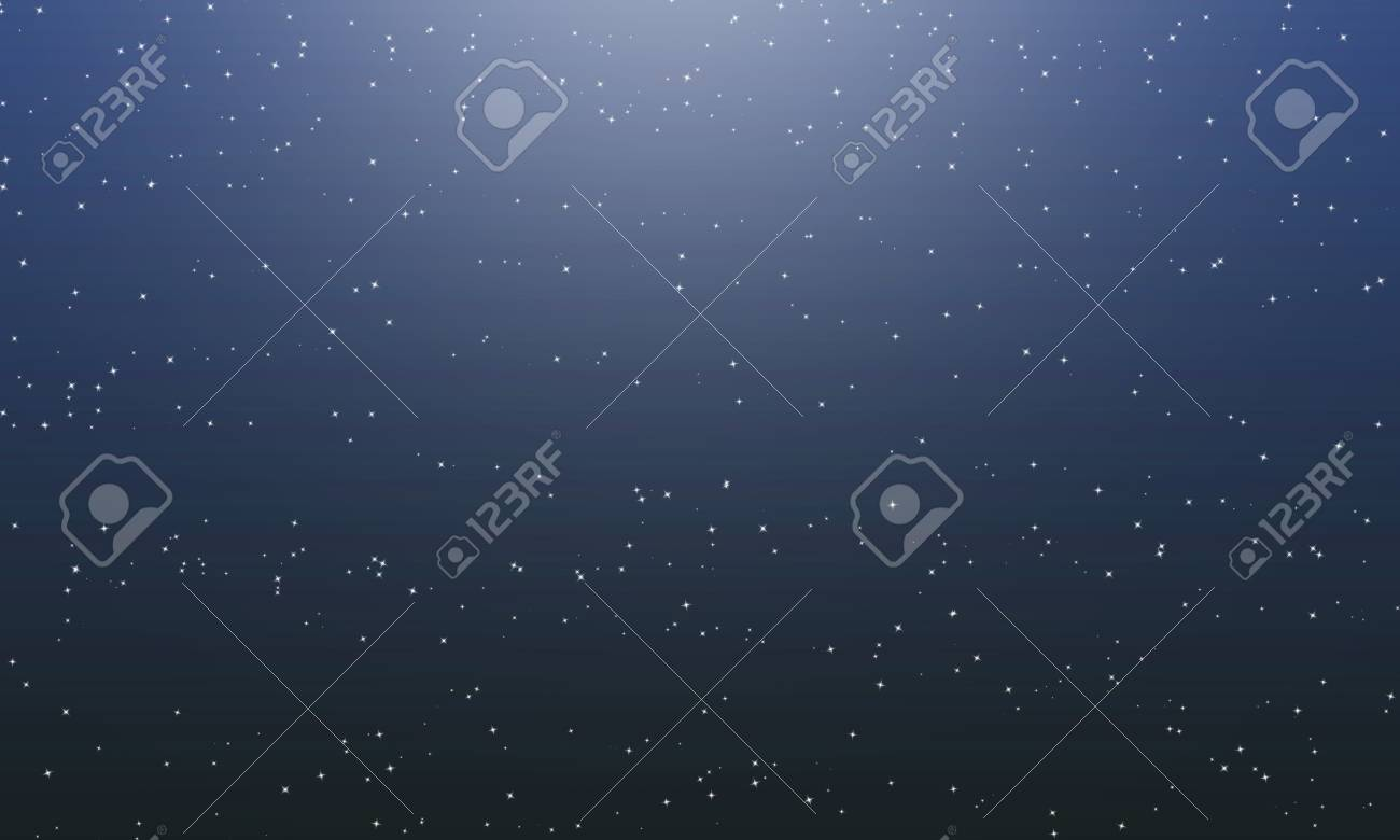 Stars Sky Universe Dark Night Galaxy Background Stock Photo