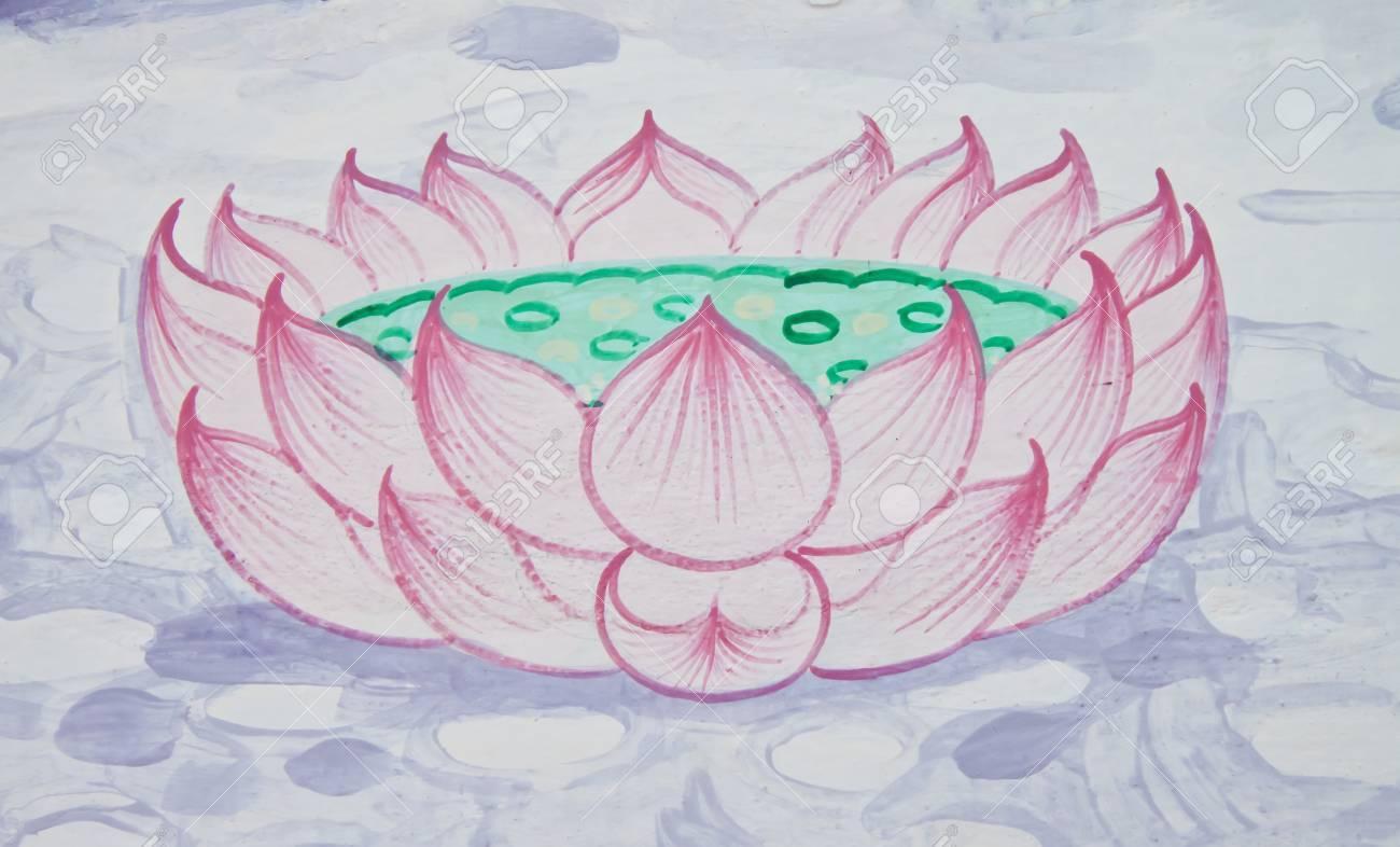 The drawings of lotus flowers stock photo picture and royalty free stock photo the drawings of lotus flowers izmirmasajfo