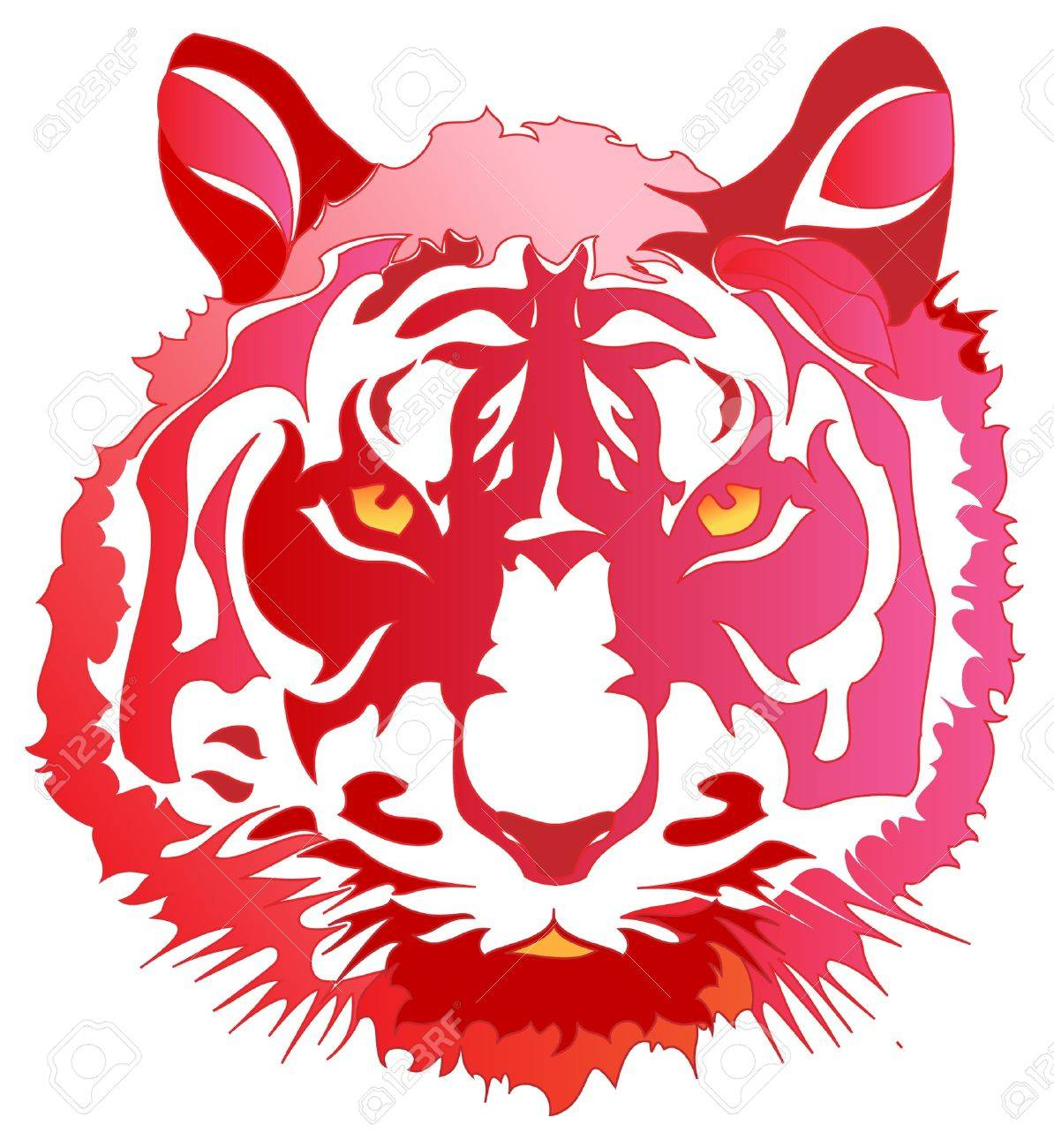 Head tiger - 12566460