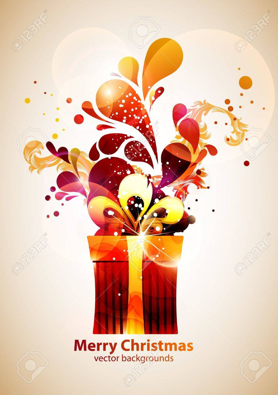 Christmas gifts  New year vector Stock Vector - 13132294