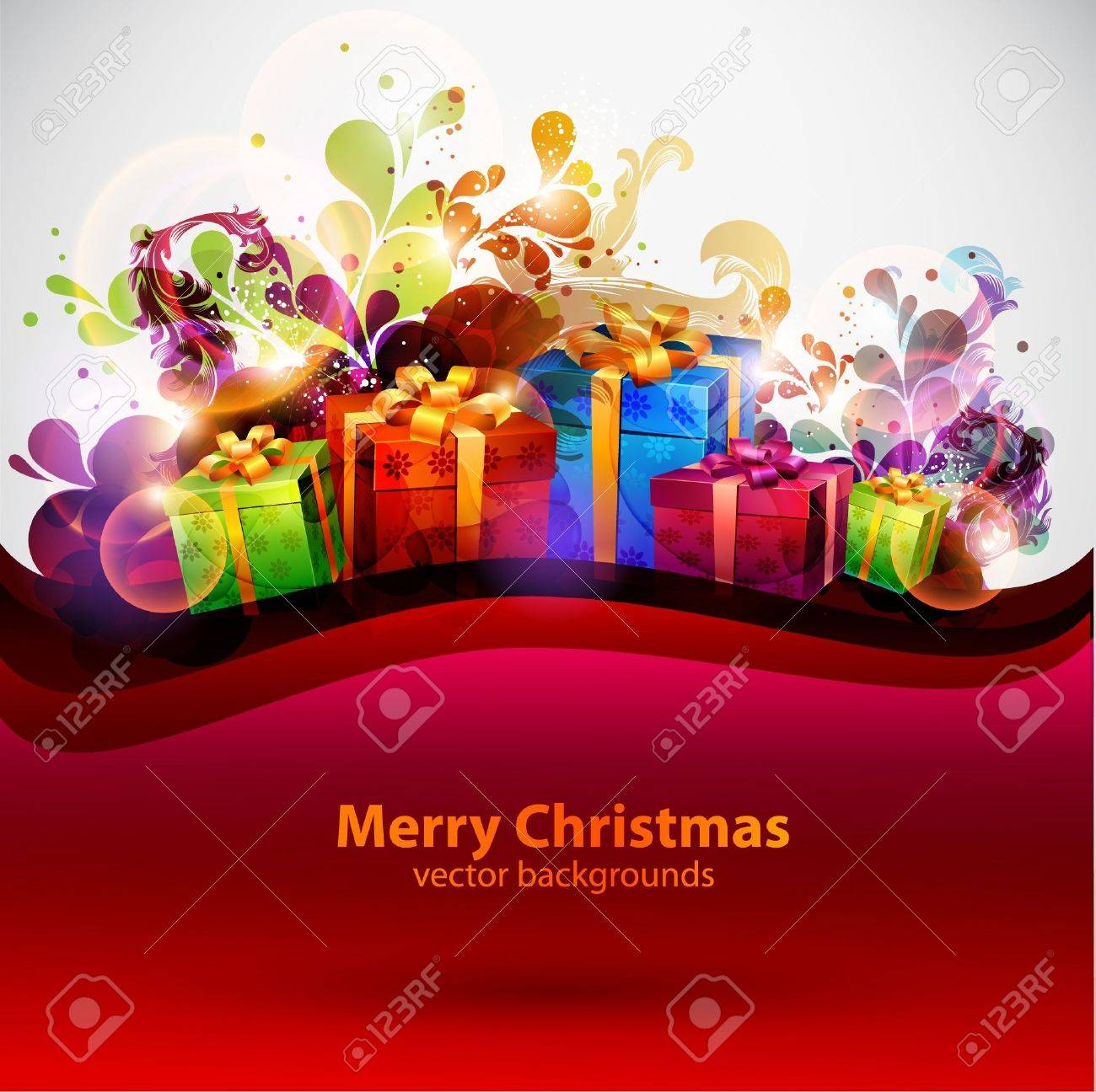 Christmas background Stock Vector - 13132302