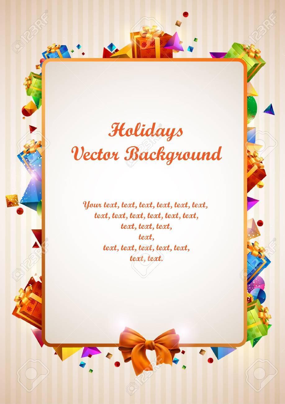 Festive design Stock Vector - 14479348