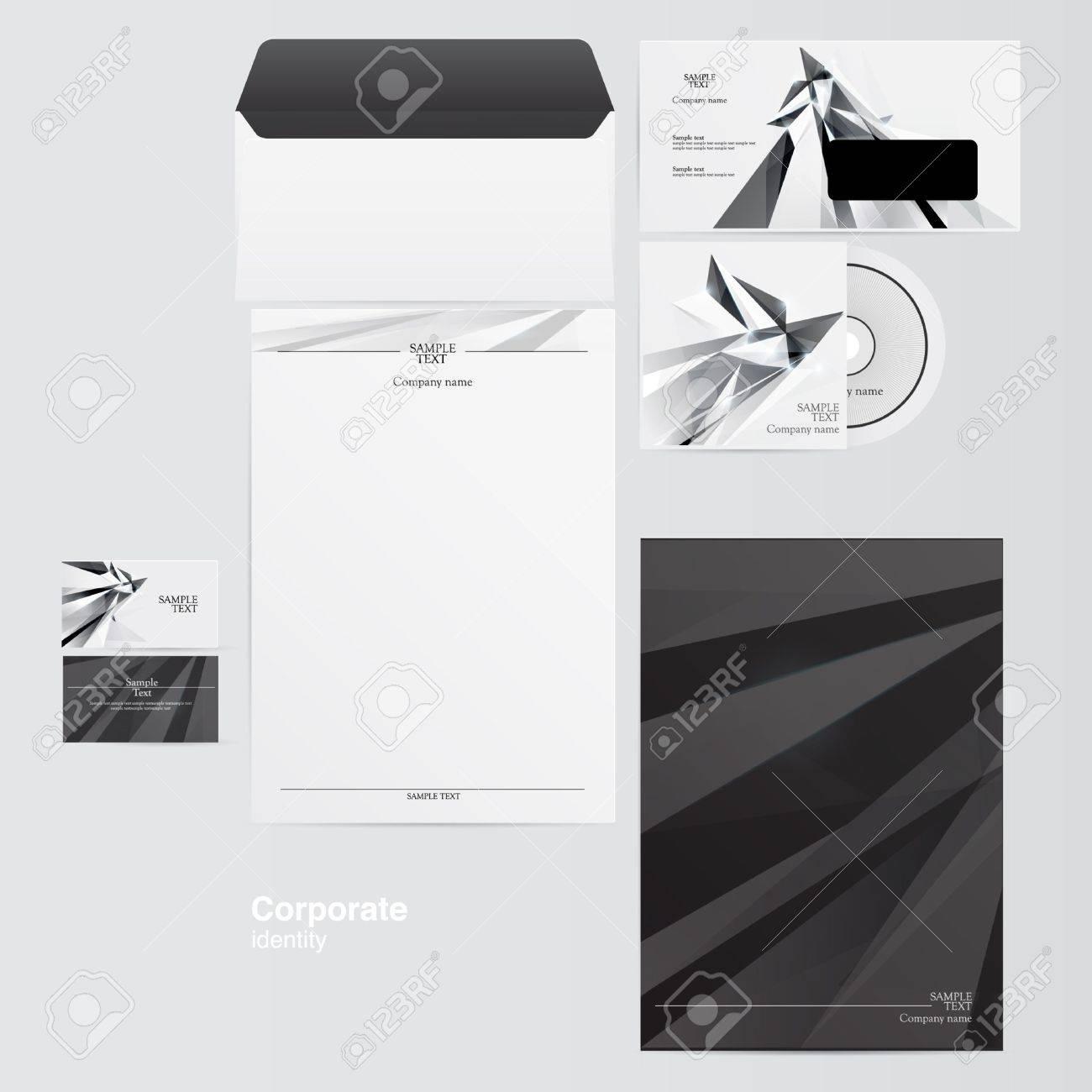 Corporate identity kit Stock Vector - 15455678