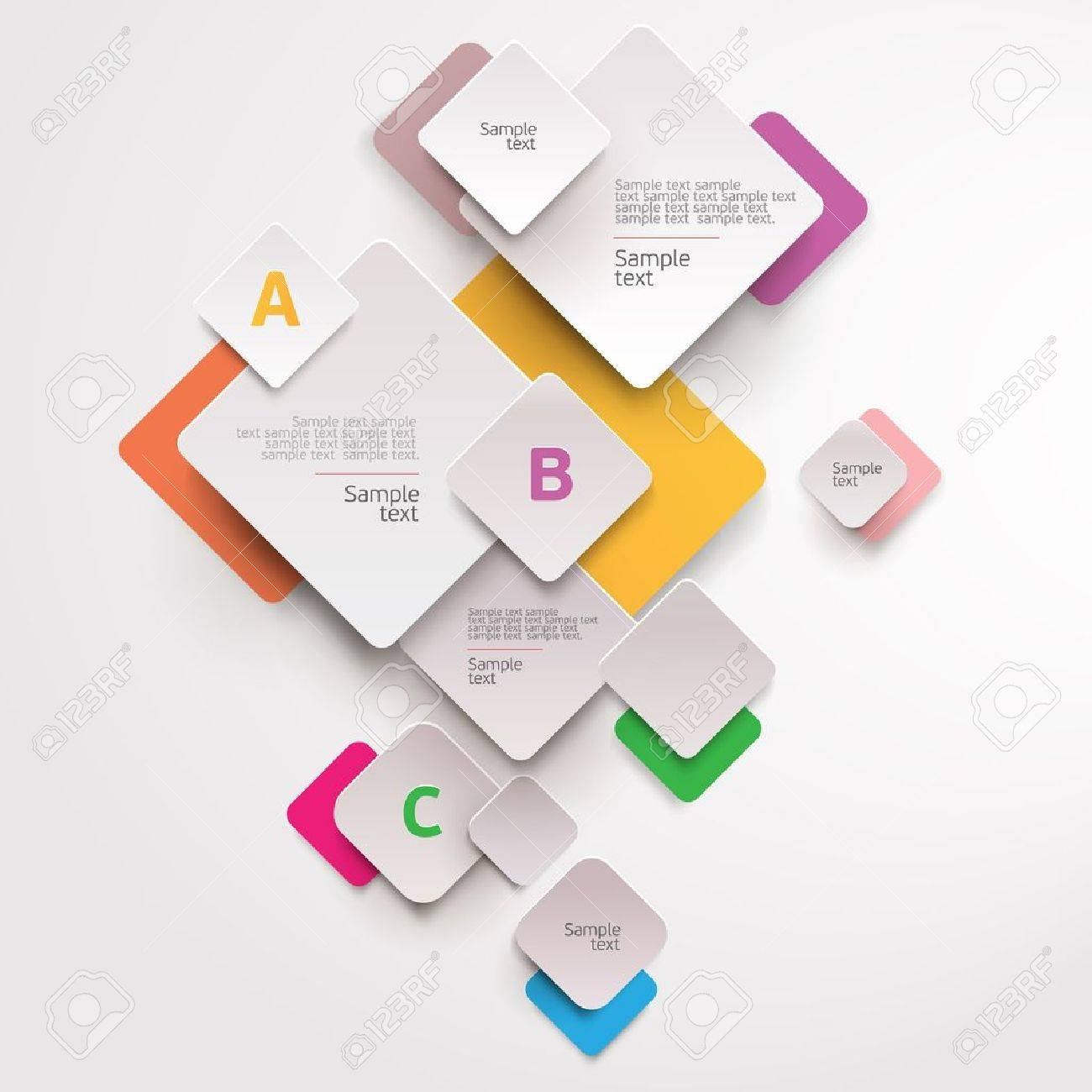 Modern colorful design Stock Vector - 19670333