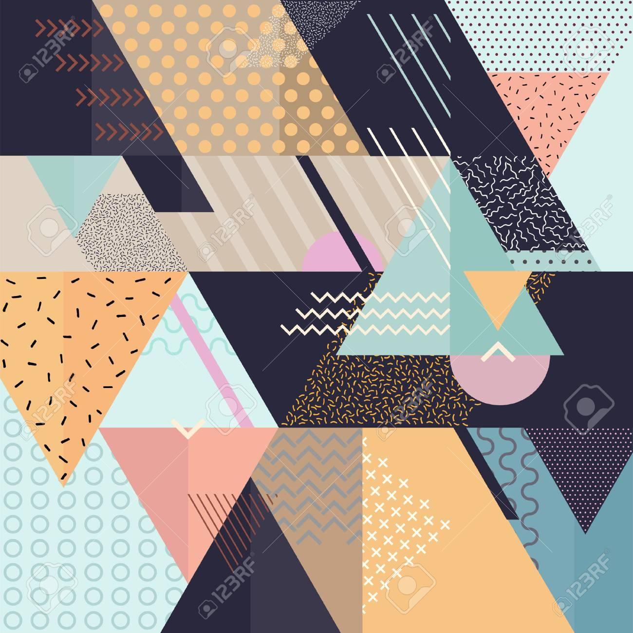 Art geometric background - 54352802