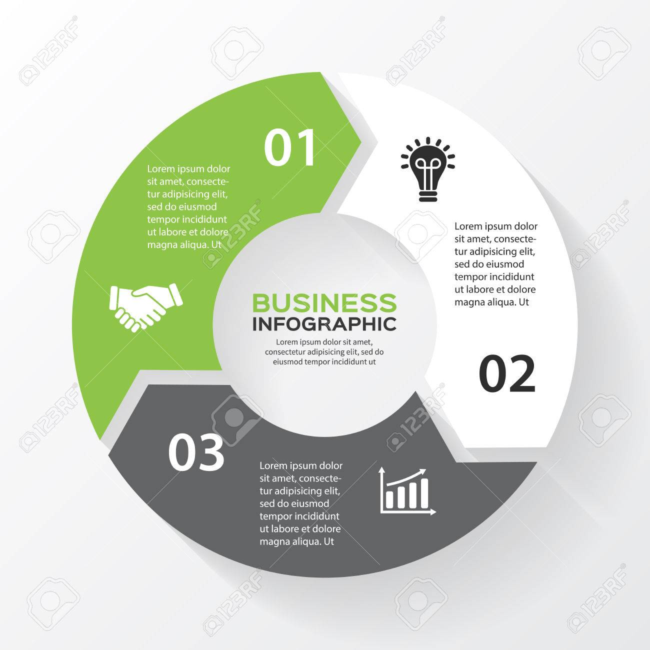Vector circle arrows for infographic template for diagram graph vector circle arrows for infographic template for diagram graph presentation and chart ccuart Image collections