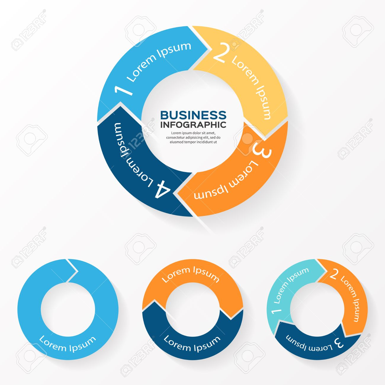 Vector circle arrows infographic template for diagram graph vector circle arrows infographic template for diagram graph presentation and chart business ccuart Image collections