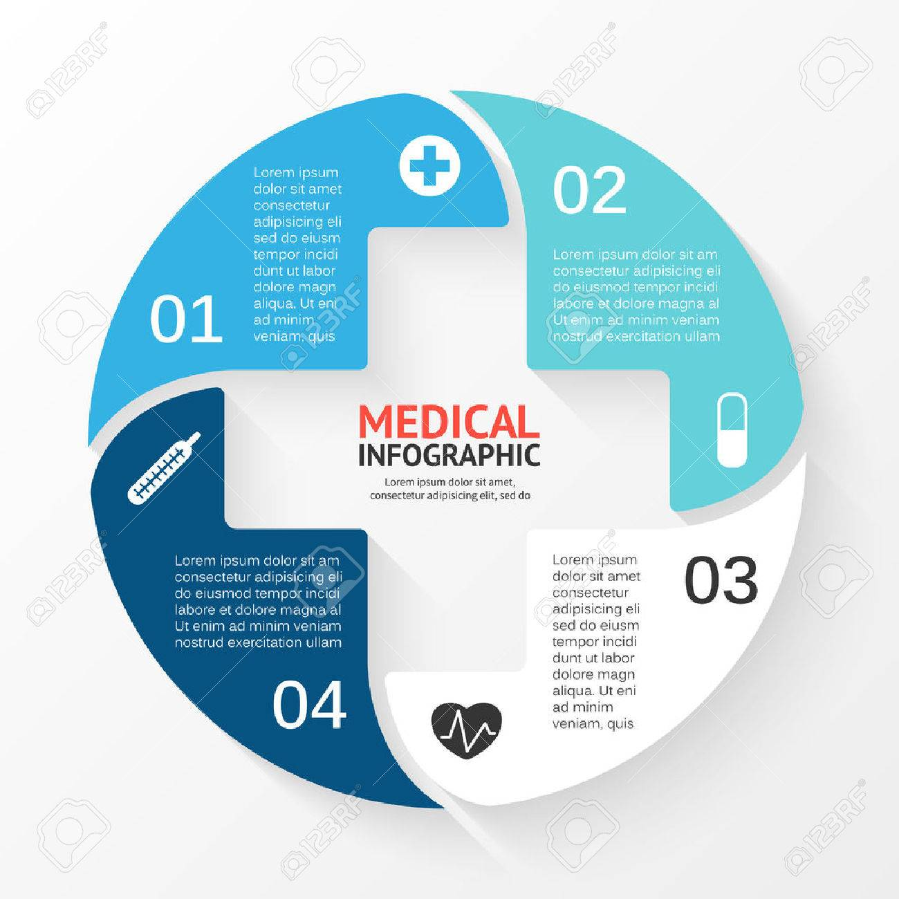 Vector circle plus sign infographic template for diagram graph vector circle plus sign infographic template for diagram graph presentation and chart ccuart Images