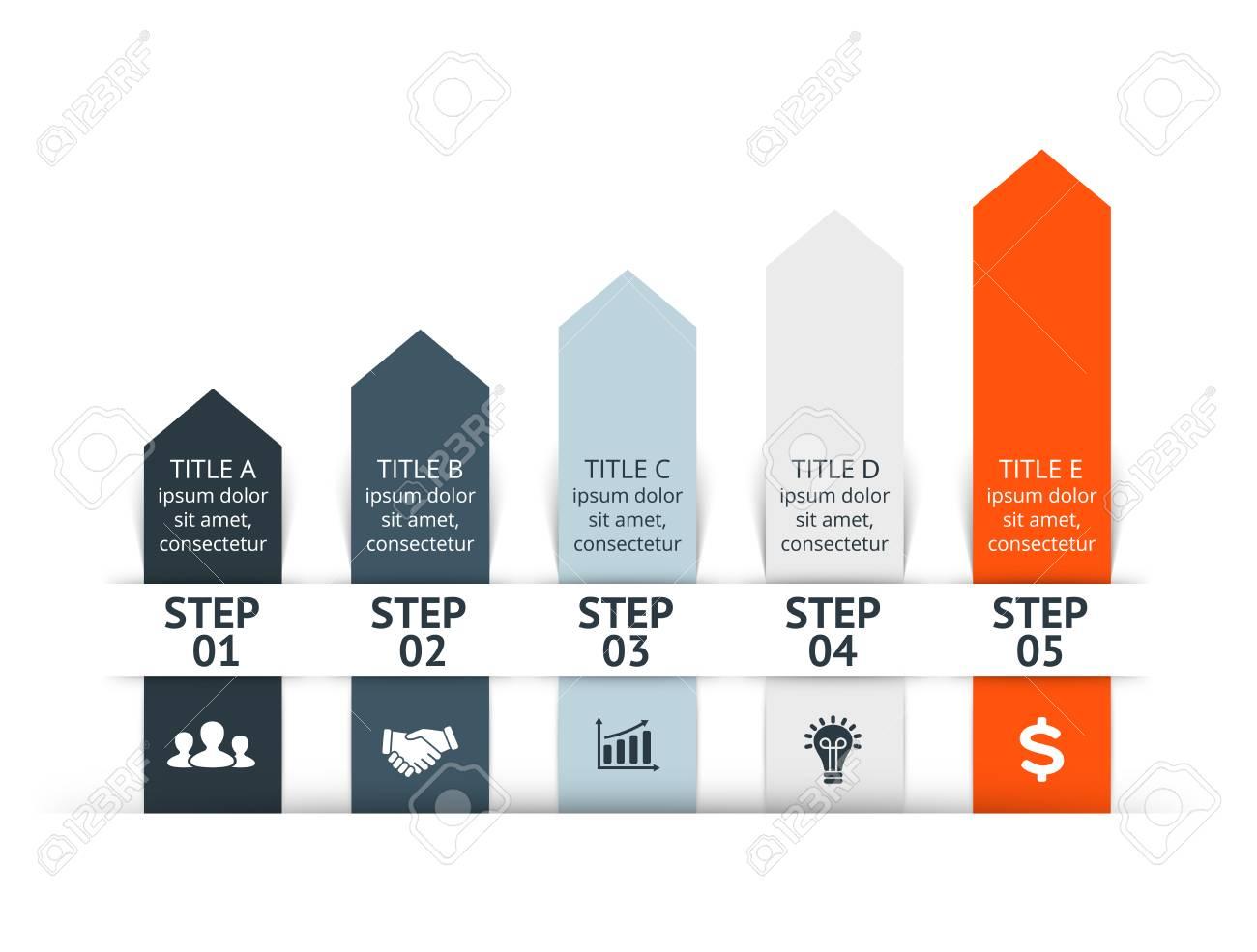 Vector Infografik. Vorlage Für Bild, Grafik, Präsentation Und Grafik ...