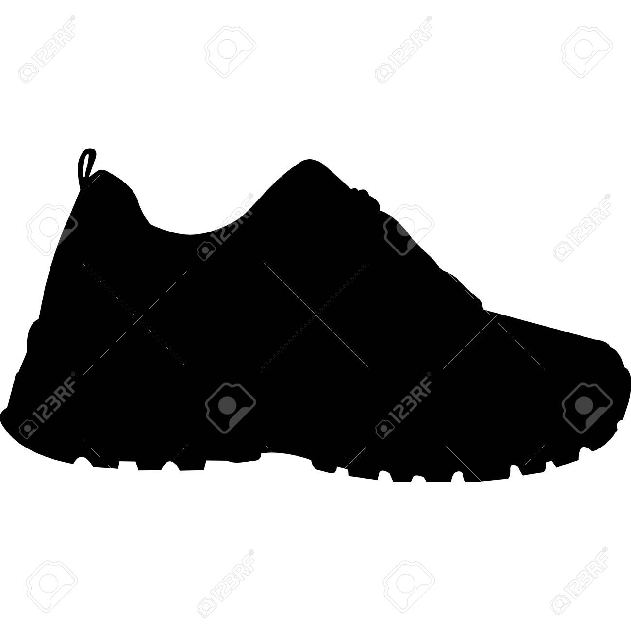 Womens Shoes Silhouette Vector - 158309967