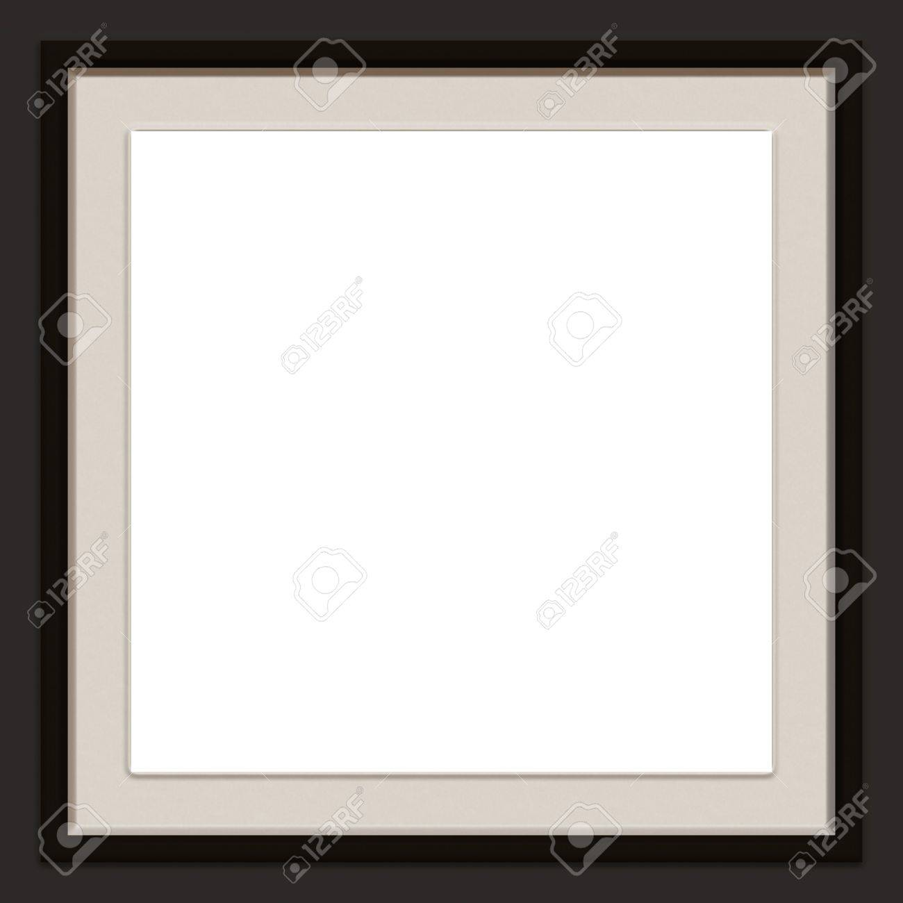 a modern contemporary picture frame stock photo picture and