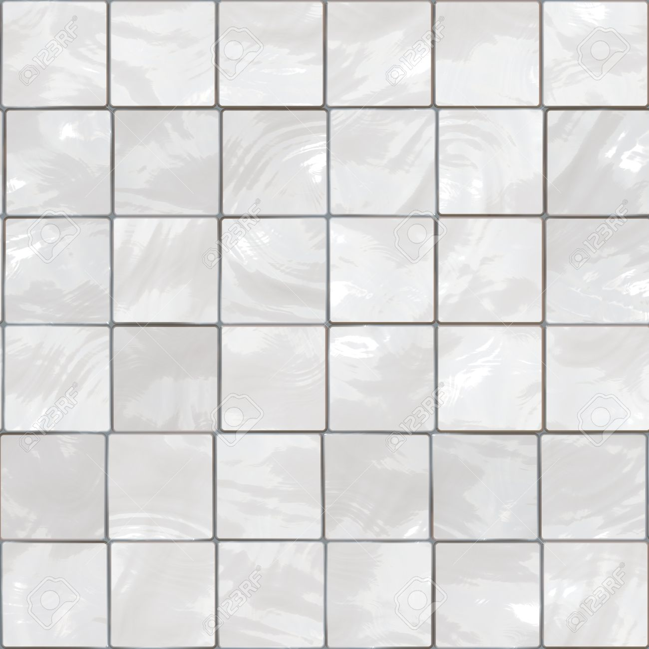 White Bathroom Tiles Background - This Tiles Seamlessly. Stock Photo ...
