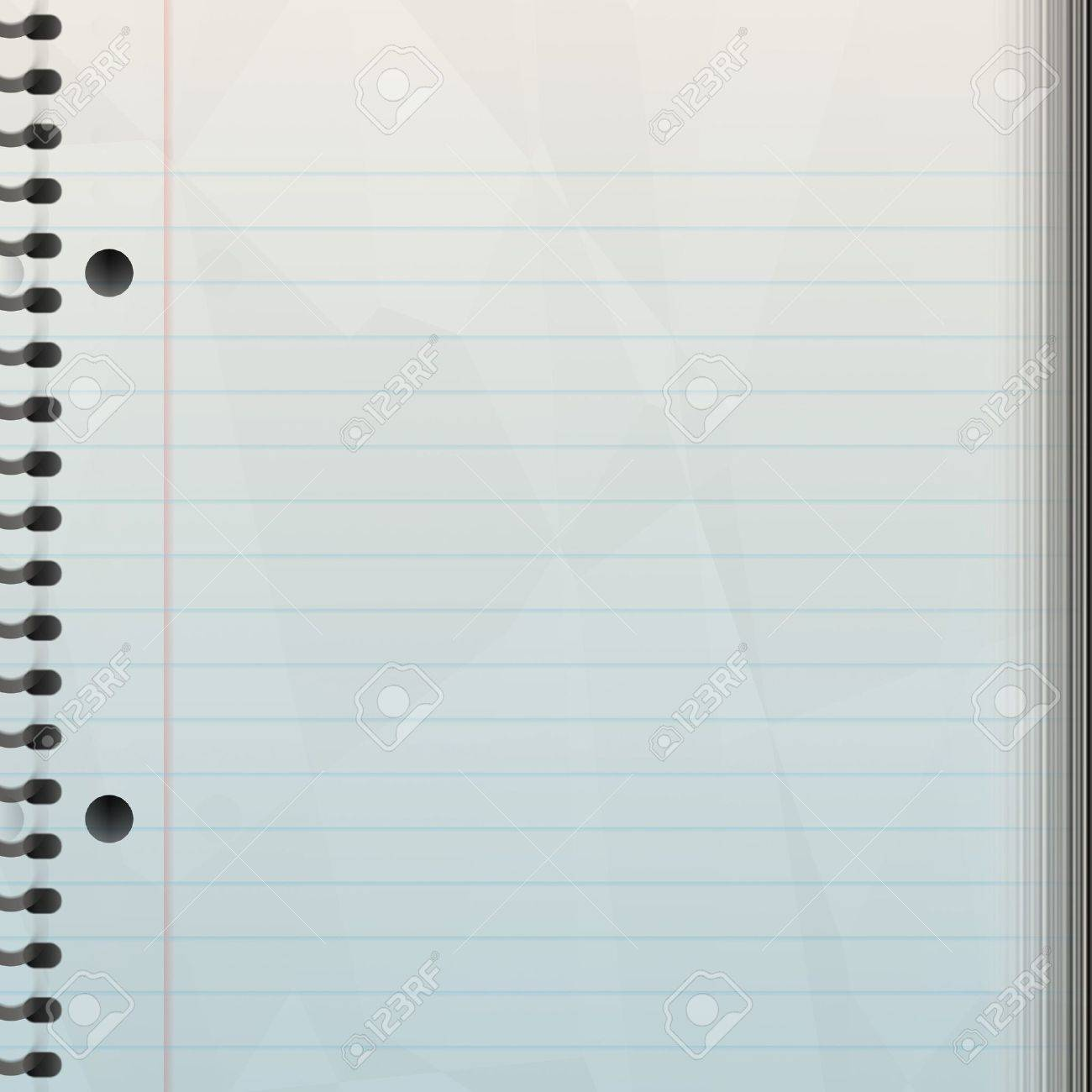 A blank notepad background - great backdrop to let your creativity loose on. Stock Photo - 2429197