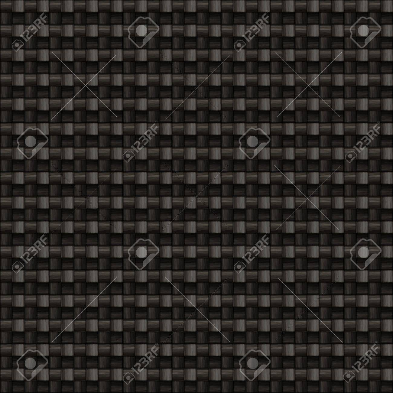 A tightly woven carbon fiber background texture - this one tiles seamlessly as a pattern in any direction Stock Photo - 3103236