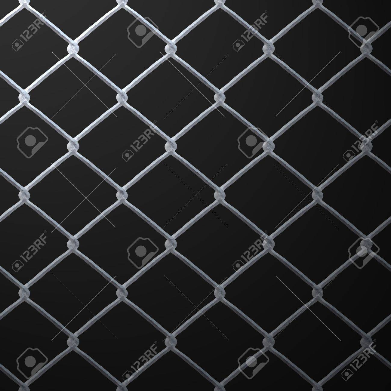 A 3D Chain Link Fence Texture That Makes A Great Backdrop. Stock ...