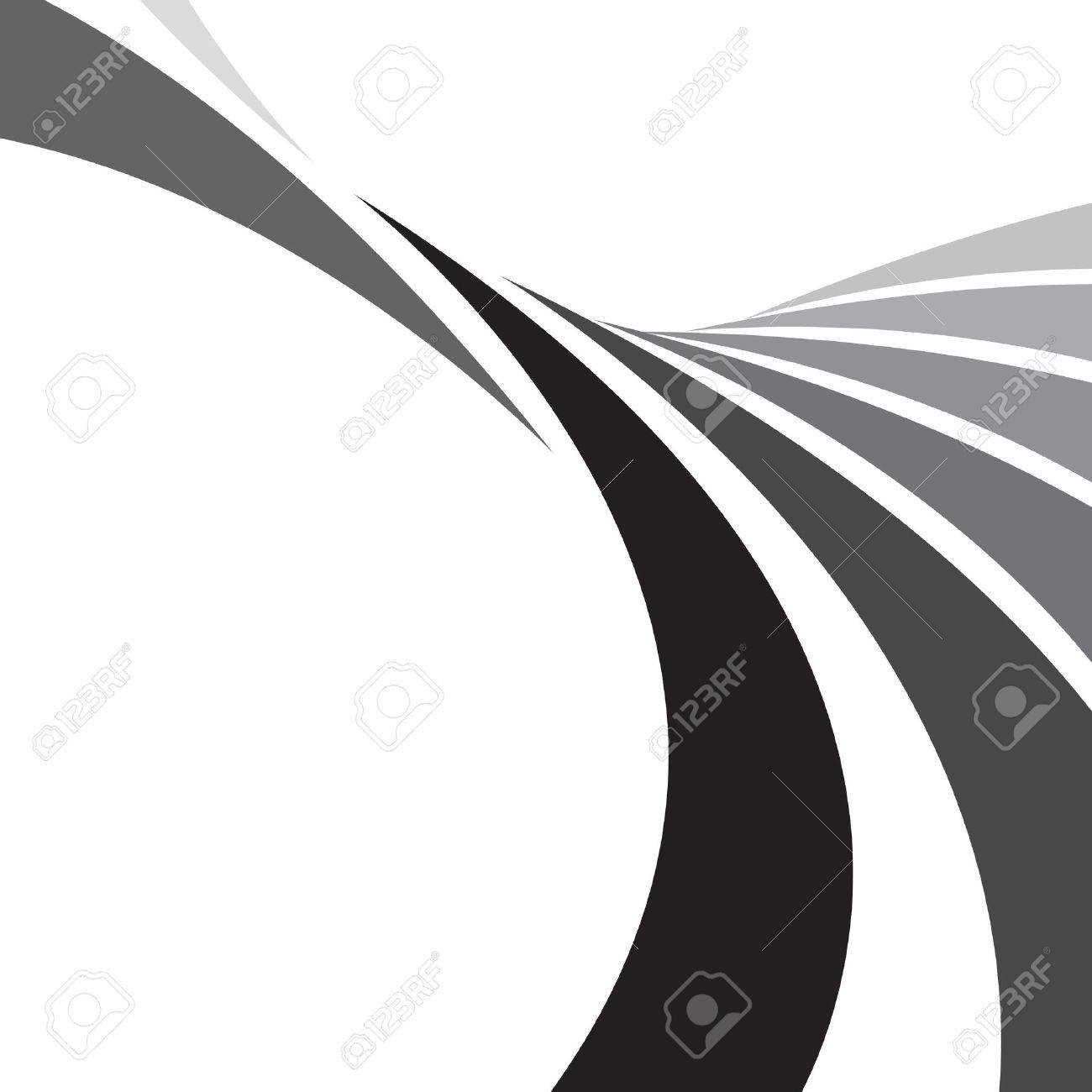 An abstract design template with plenty of copyspace. This vector image makes a great background. Stock Vector - 3916565