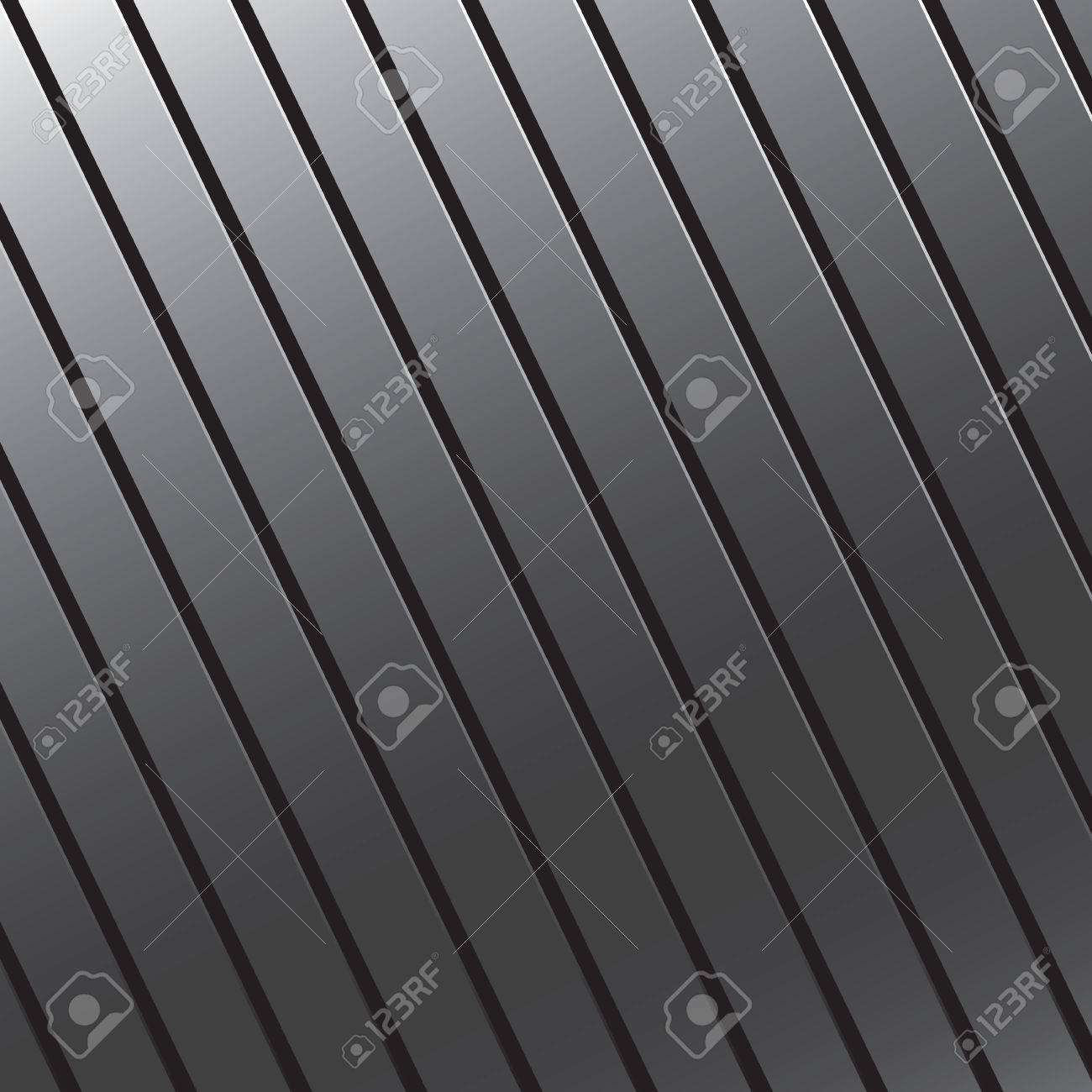 This silver grooved metal texture makes a great background.  Since it is a vector image it is also fully customizable. Stock Vector - 4020390