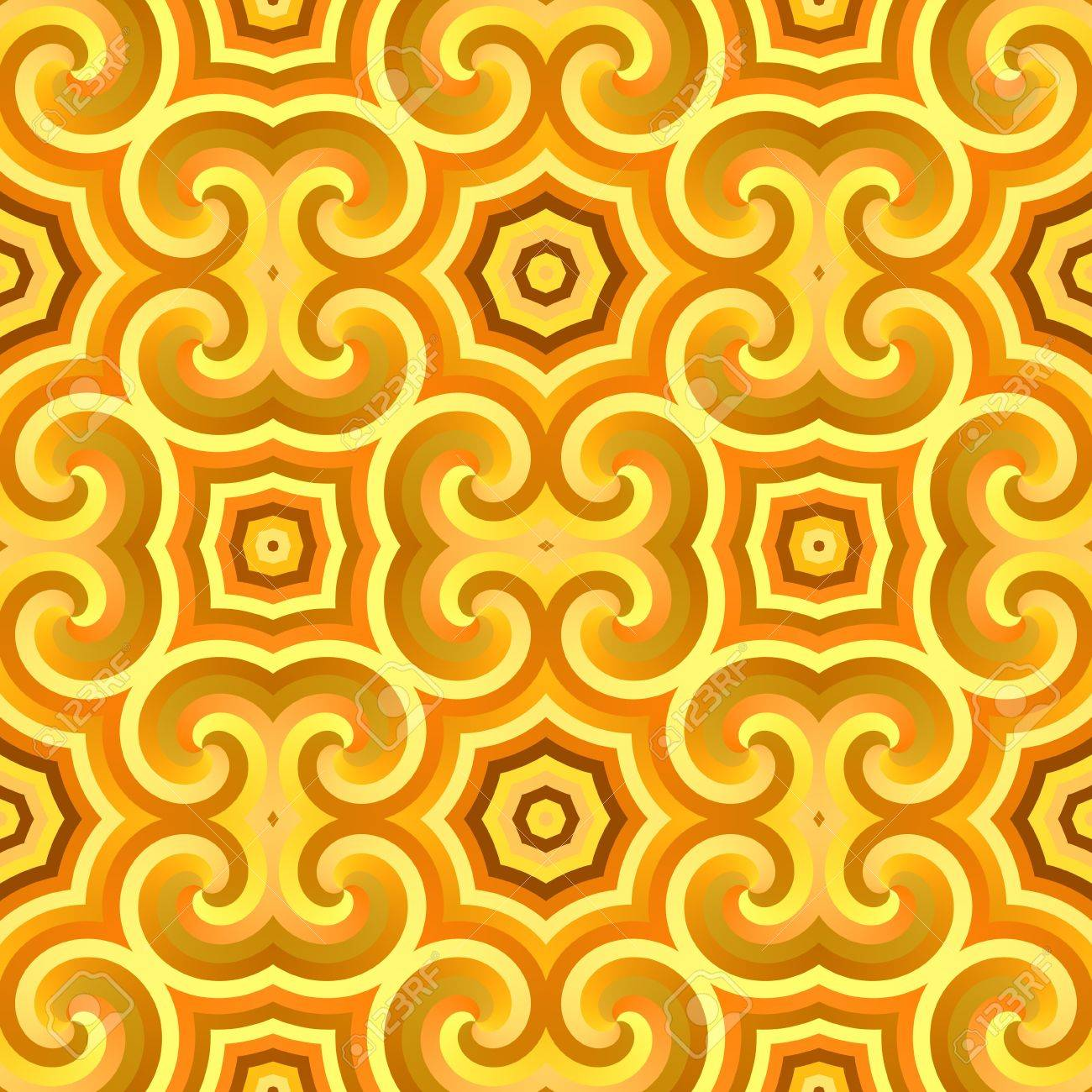 A vintage wallpaper texture that tiles seamlessly as a pattern. Stock Photo - 4181741