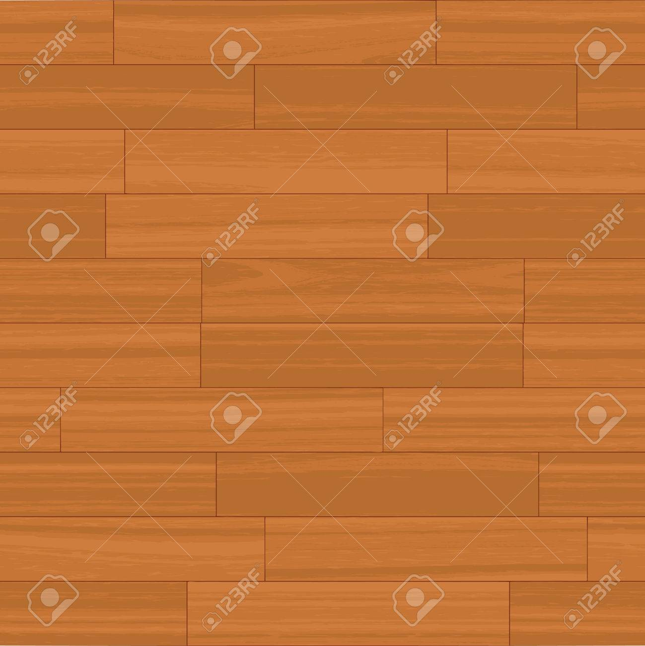 This wood floor pattern tiles seamlessly as a background. Stock Vector - 4301732