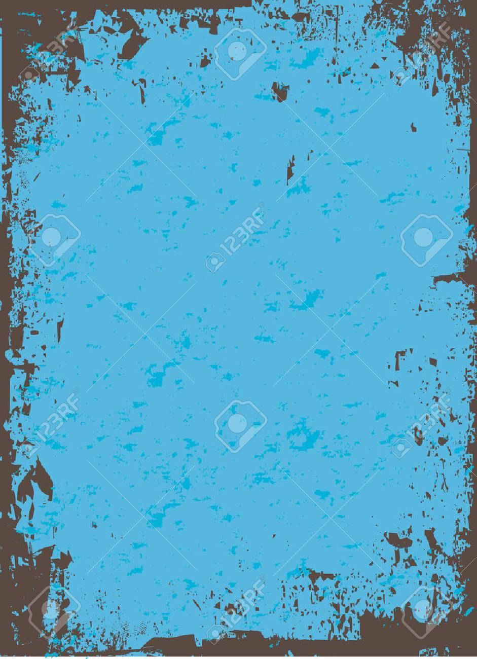 A worn looking grunge background - all elements are easily customizable in this vector image. Stock Vector - 4411201