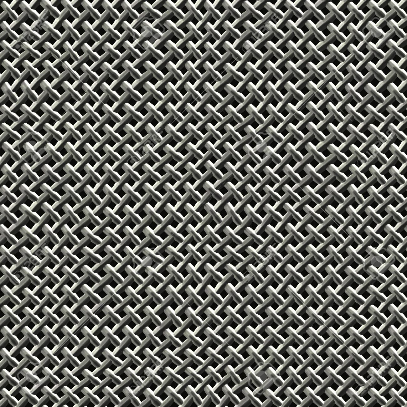 Steel Wire Mesh Texture That Tiles Seamlessly As A Pattern. Stock ...