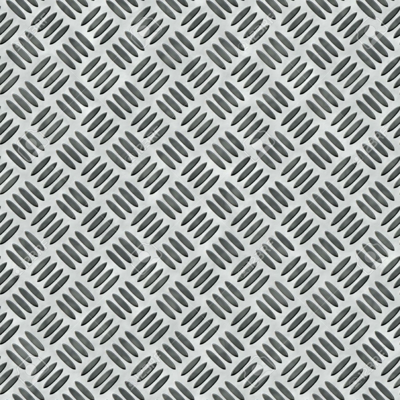 A diamond plate bumped metal texture that tiles seamlessly as a pattern in any direction. Stock Photo - 6741204