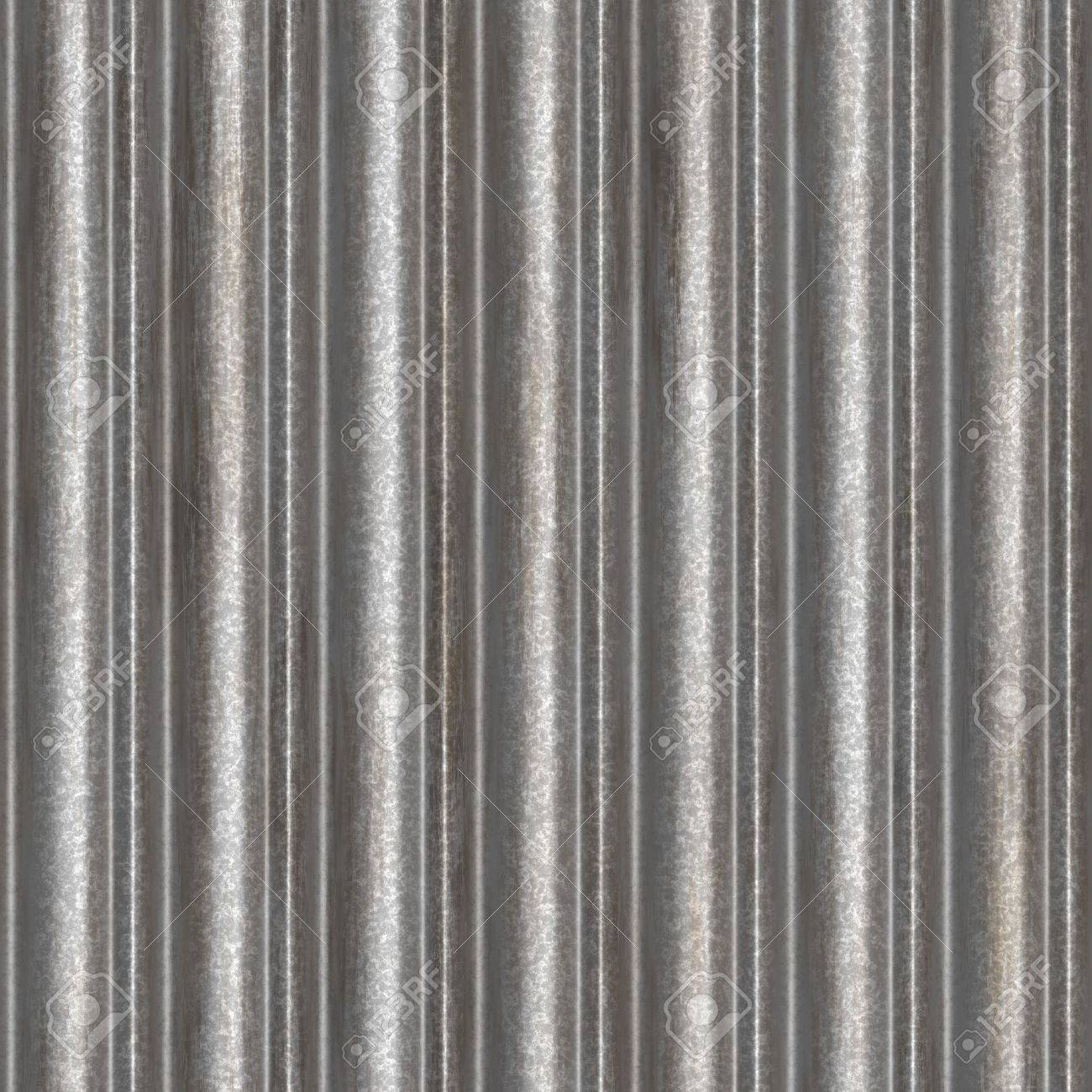 A corrugated metal texture that tiles seamlessly as a pattern Makes a great  background or. Corrugated Metal Seamless Texture