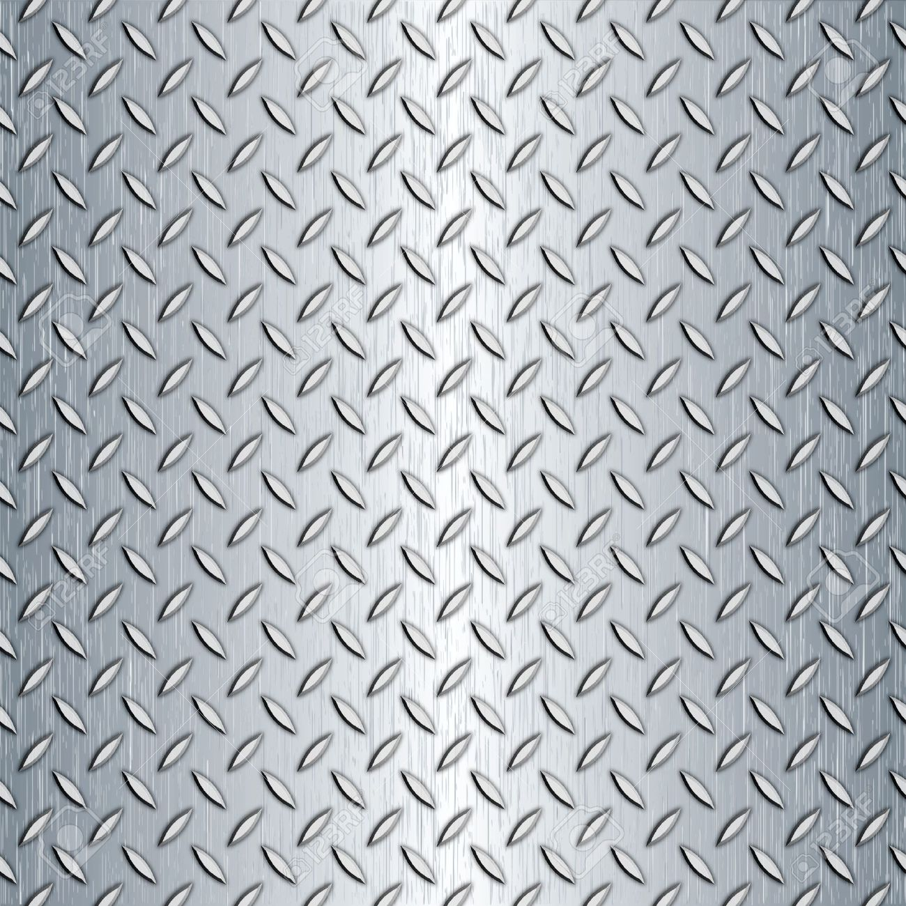 Steel diamond plate pattern. You can tile this seamlessly as a pattern to fit whatever size you need. Stock Photo - 8204616