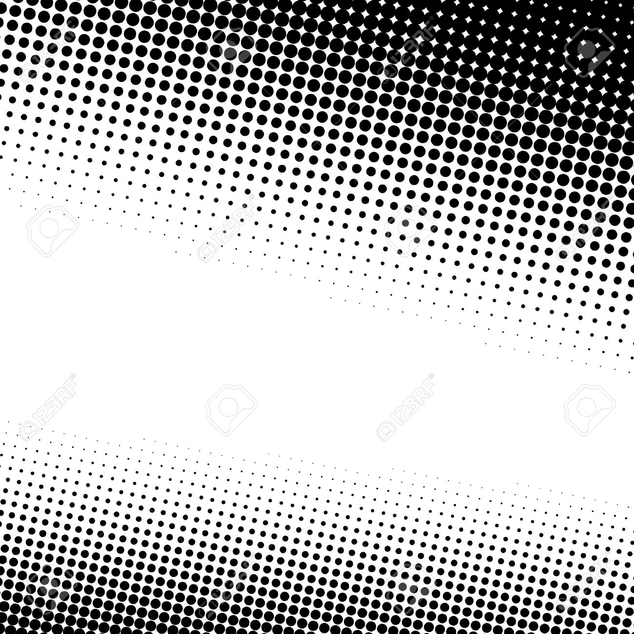 A black and white halftone background with plenty of copy space Stock Vector - 8535236