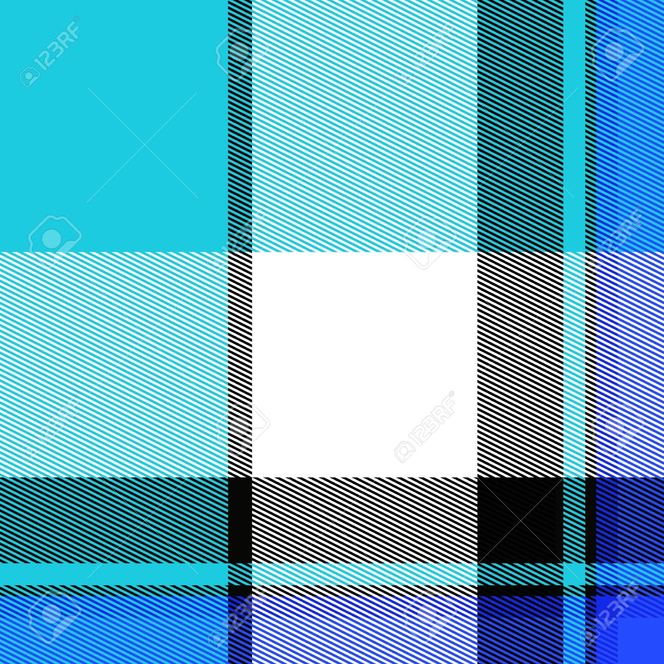A blue striped plaid pattern that tiles seamlessly. Stock Photo - 8908585