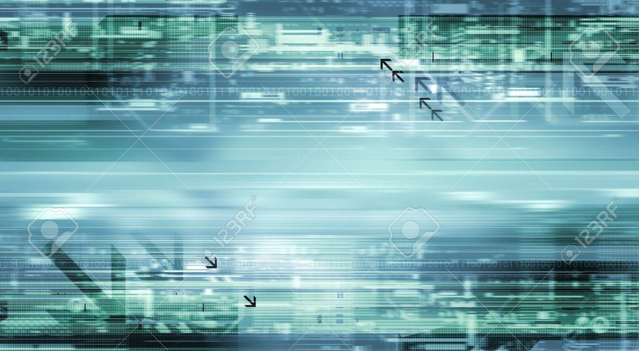 abstract background visualizing motion and technology Stock Photo - 5326064
