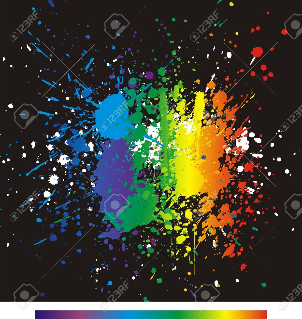 Colori di Vernice Spruzzi di Vernice di Colore