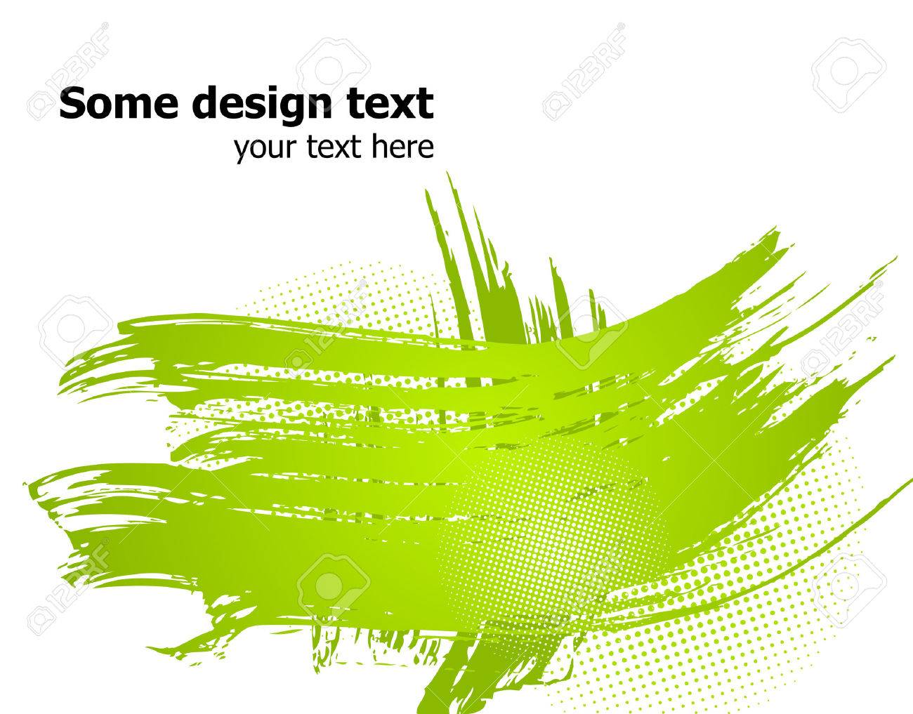 Elegance paint splash background with place for your text. Stock Vector - 6577904