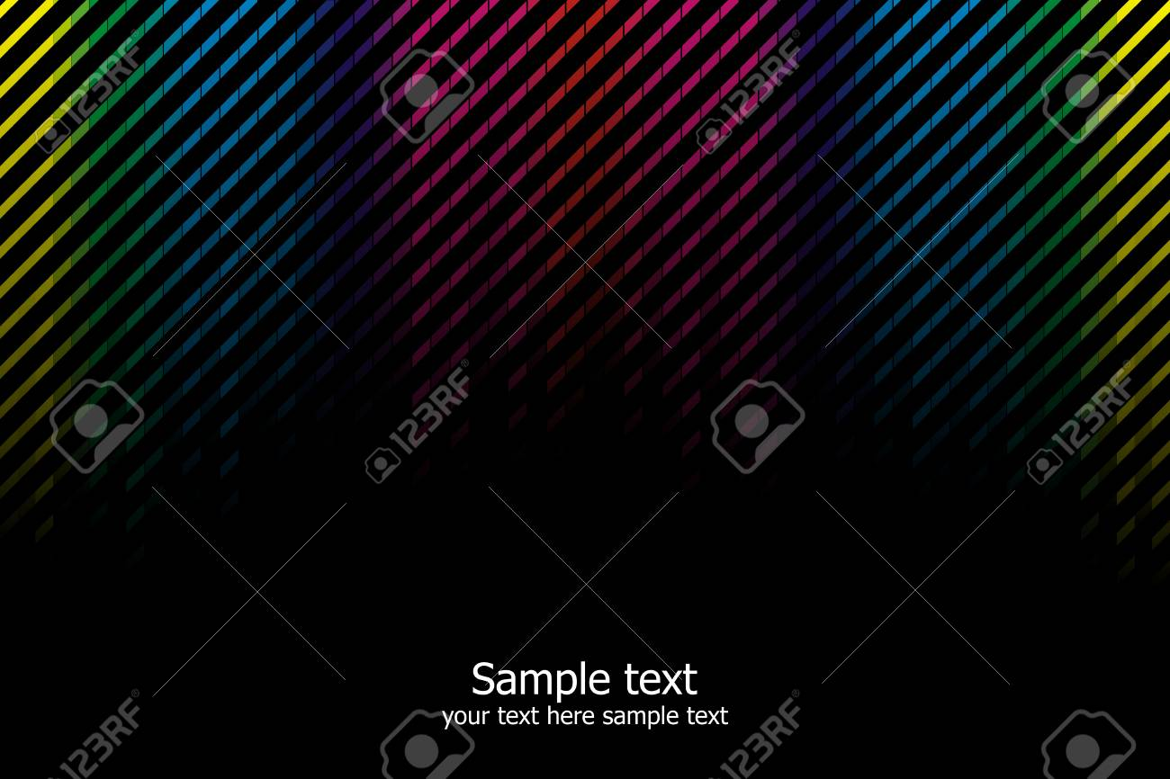 Abstract rainbow colours background. Modern vector illustration. Stock Vector - 6643739
