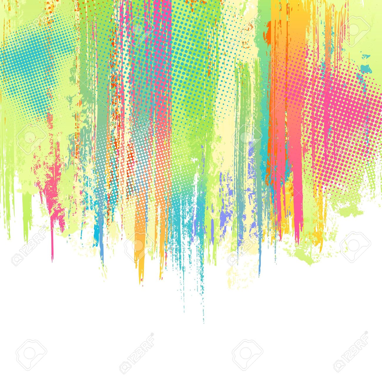 pastel paint splashes background vector design template royalty