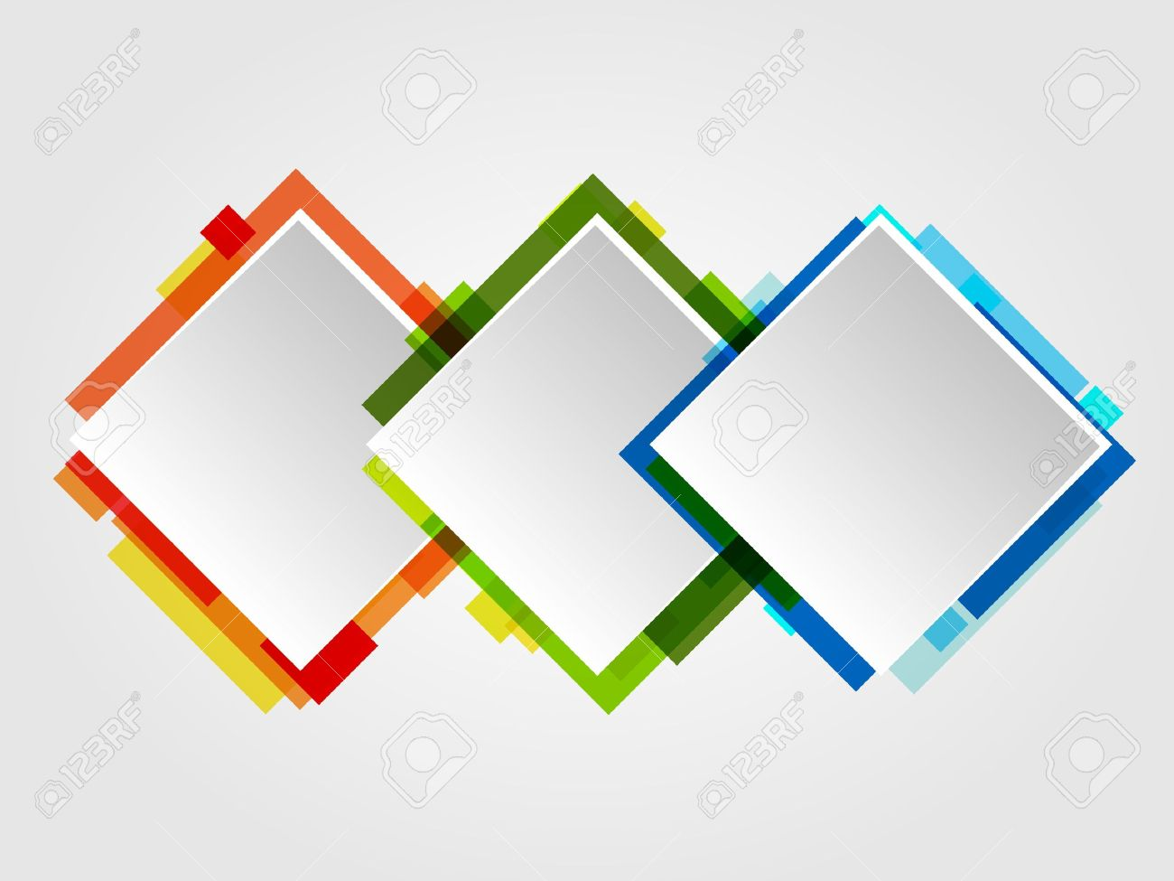 Romb Design Frames. Abstract Royalty Free Cliparts, Vectors, And ...