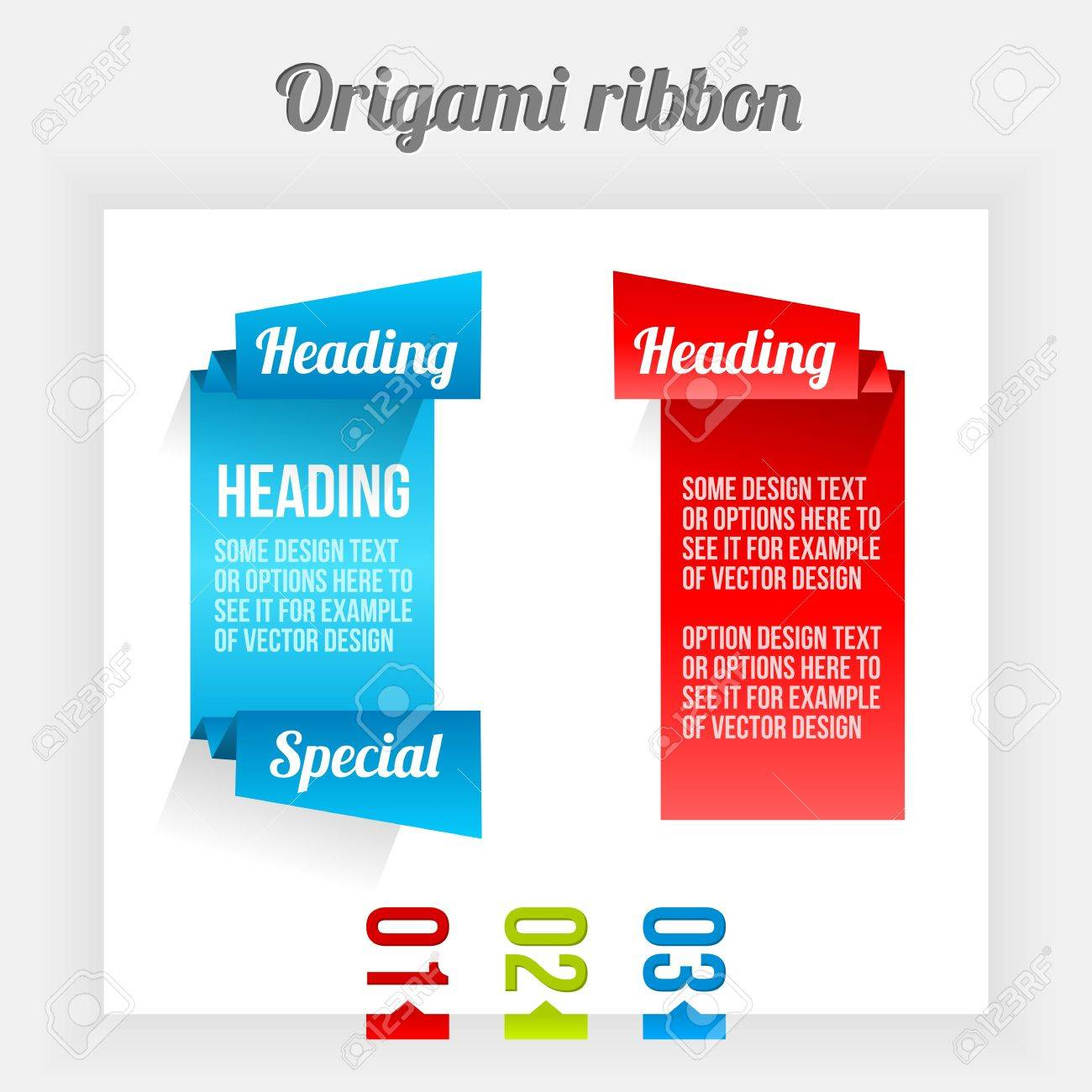 Design elements banner - Clean Design Elements Color Banners Stock Vector 16398701