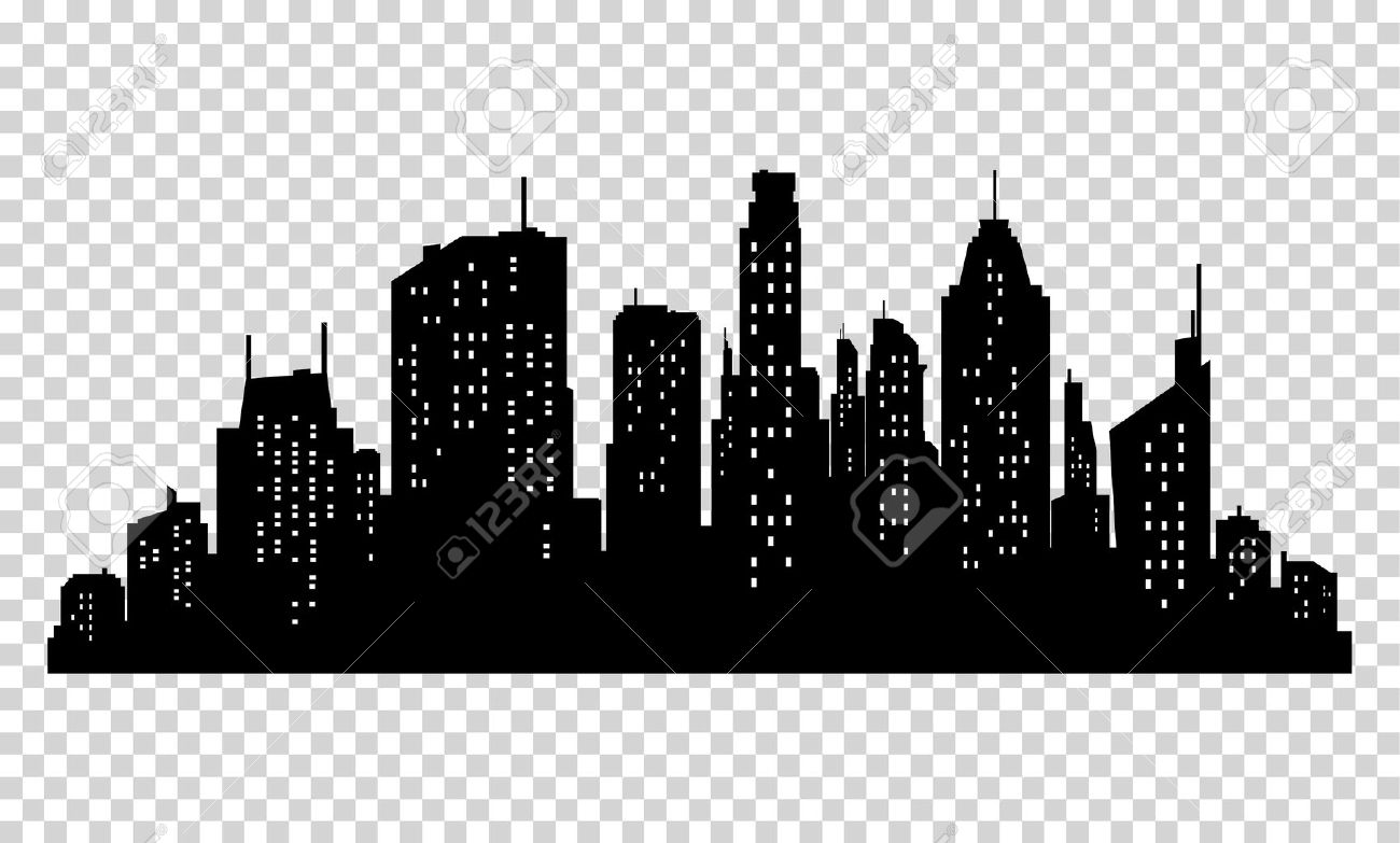 set of vector city silhouette and elements for design isolated rh 123rf com city victoria tx city victoria mn