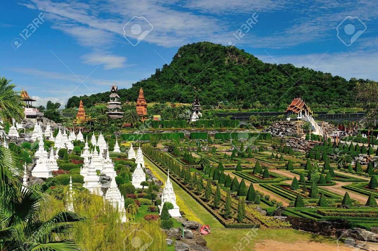 Nong Nooch Garden in Pattaya, Thailand Stock Photo - 19690920