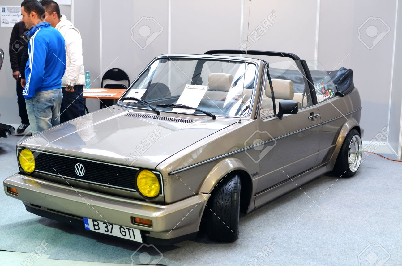 Bucharest Romania October 13 2012 Modified Volkswagen Golf Stock Photo Picture And Royalty Free Image Image 15876791