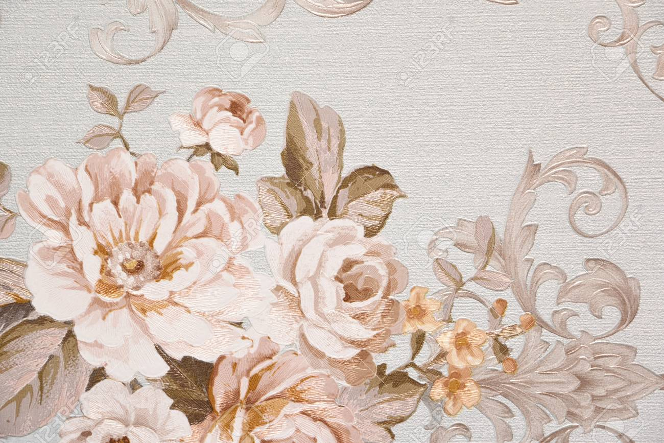 Vintage Flowers Wallpaper And Background