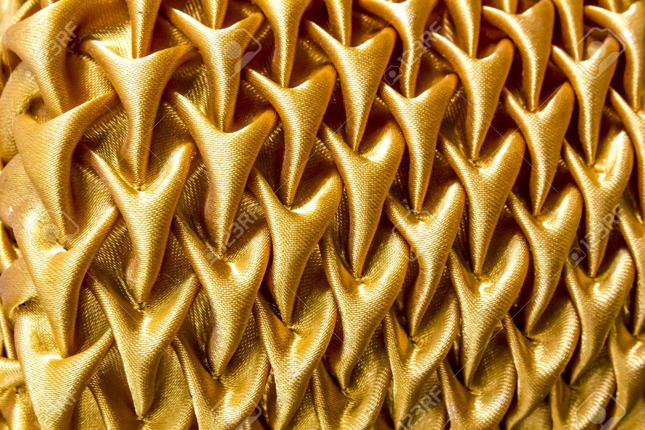 Curtains texture gold - Gold Curtain Texture Background Stock Photo 22254932