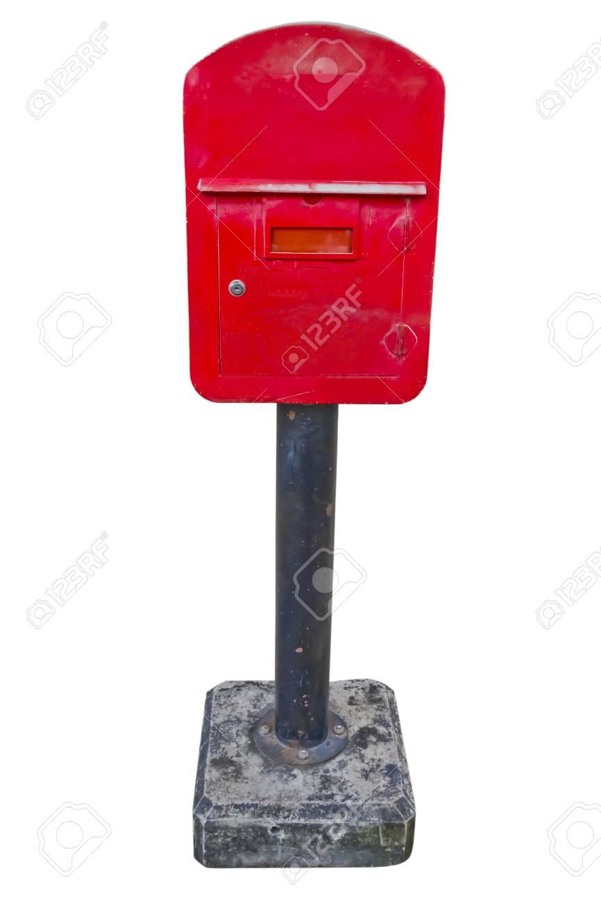 Boite Aux Lettres Rouge Banque D Images Et Photos Libres De Droits