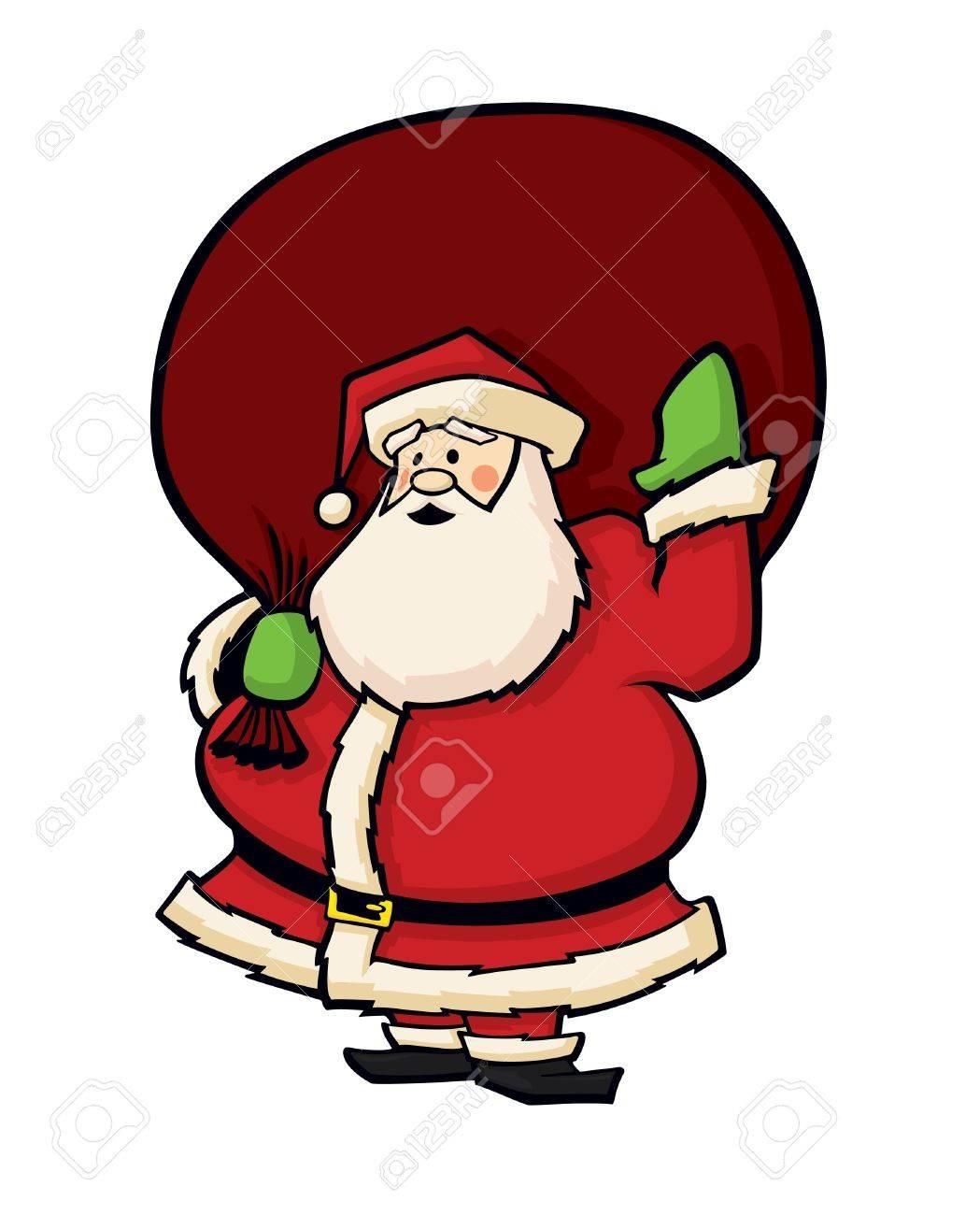Santa Claus Cartoon Vector Stock Vector - 11995731