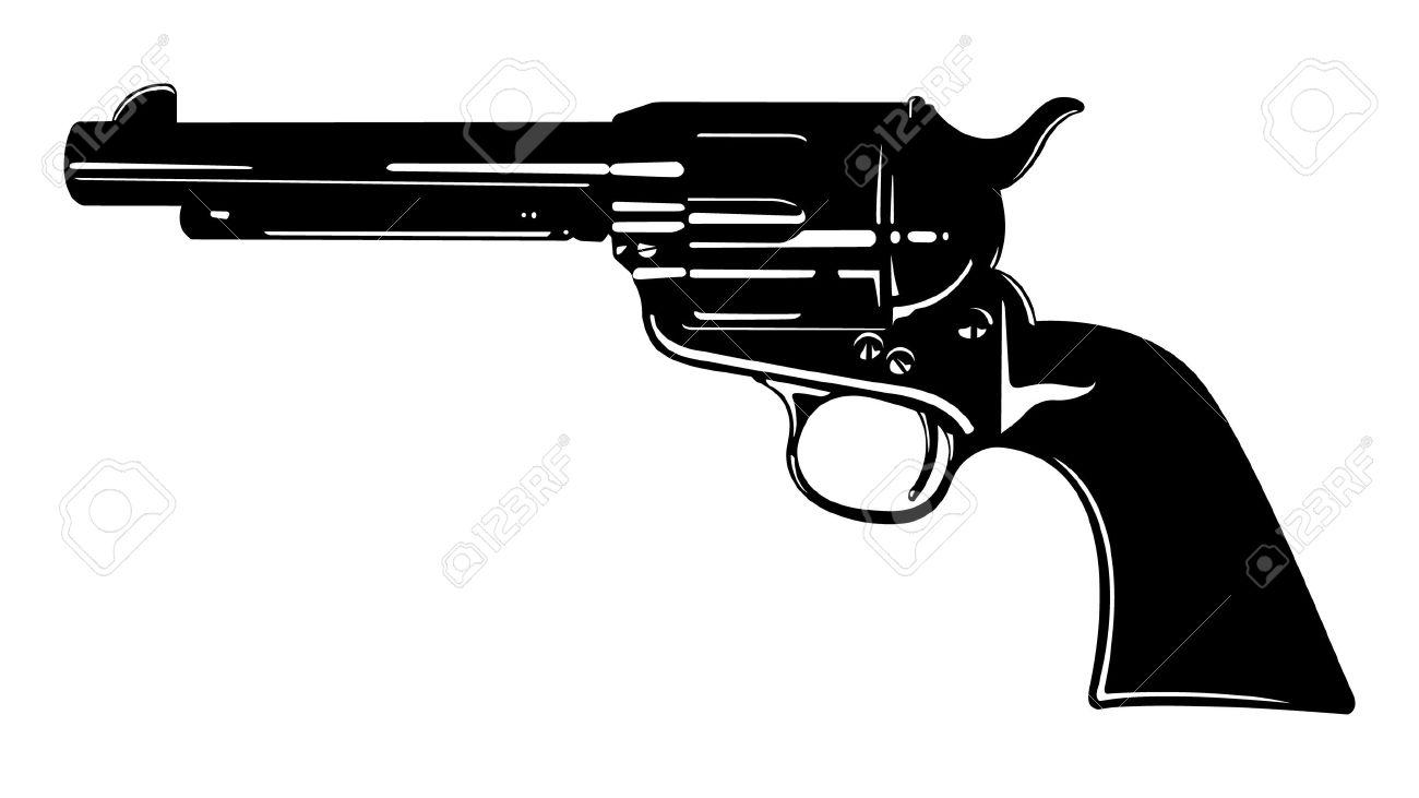 vector antique pistol two royalty free cliparts vectors and stock rh 123rf com gun vector free download gun vector free