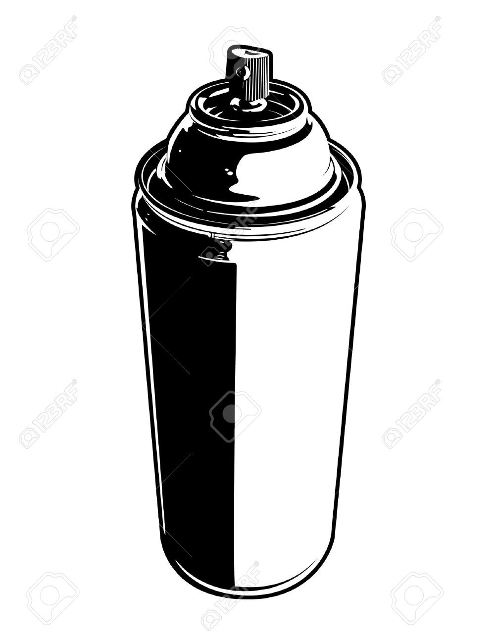 can of spray paint royalty free cliparts vectors and stock rh 123rf com spray paint vector pack spray paint vector free download