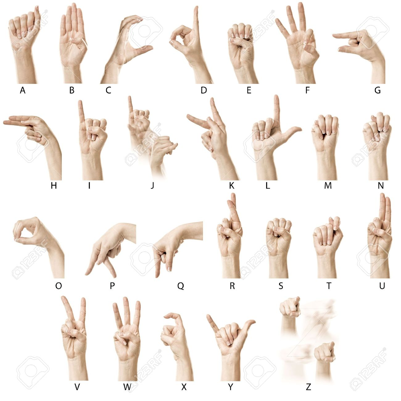 Multiculturalism In Australia Essay  Finger Spelling The Alphabet In American Sign Language ASL Stock Photo Multiculturalism In Australia Essay