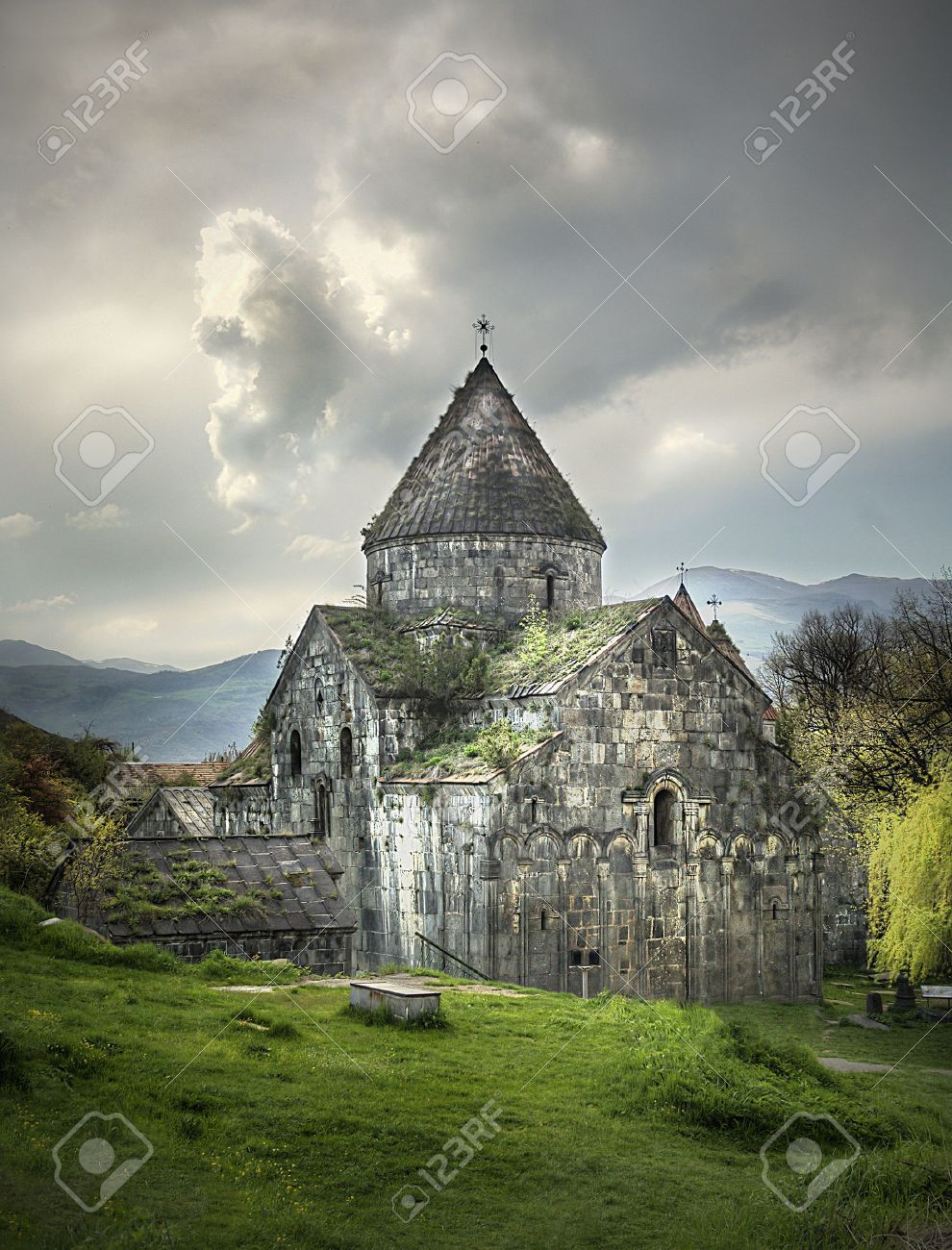 Ancient Christian Monastery / Church in Armenia - Sanahin Monastery Stock Photo - 10398316